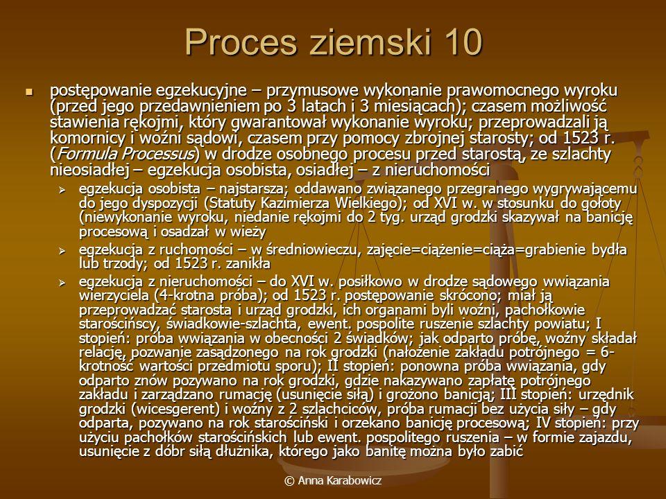 Proces ziemski 10