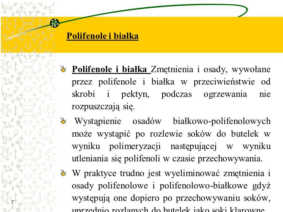 Polifenole i białka