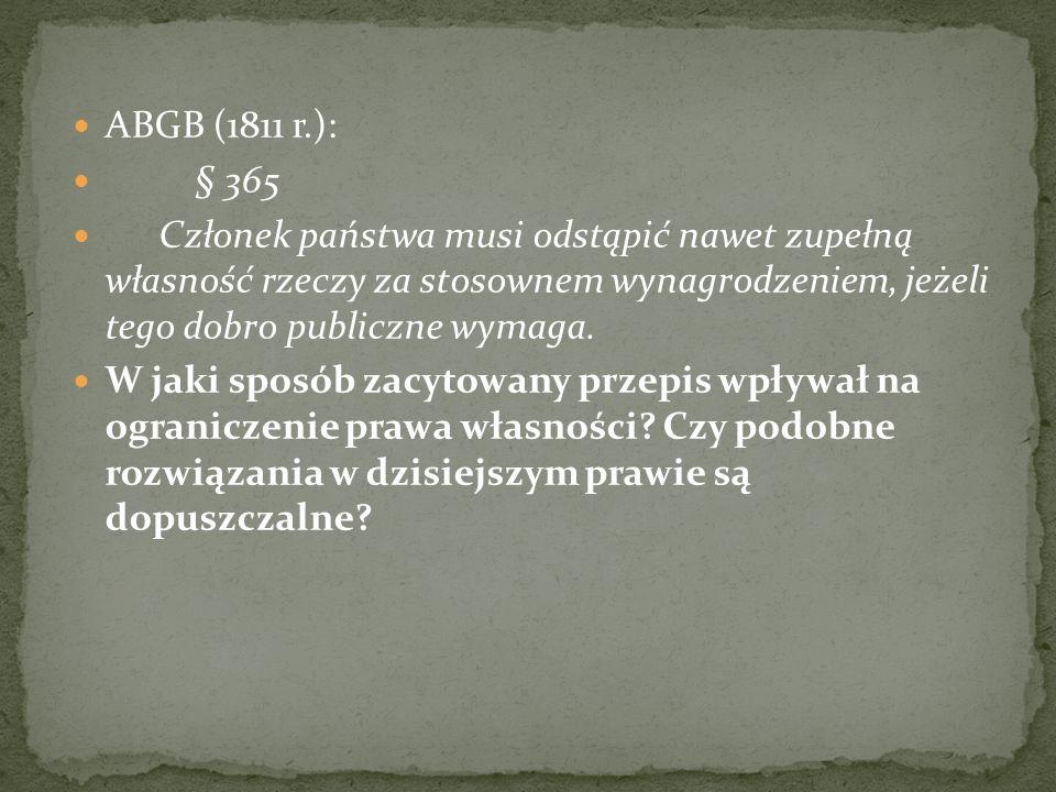 ABGB (1811 r.): § 365.