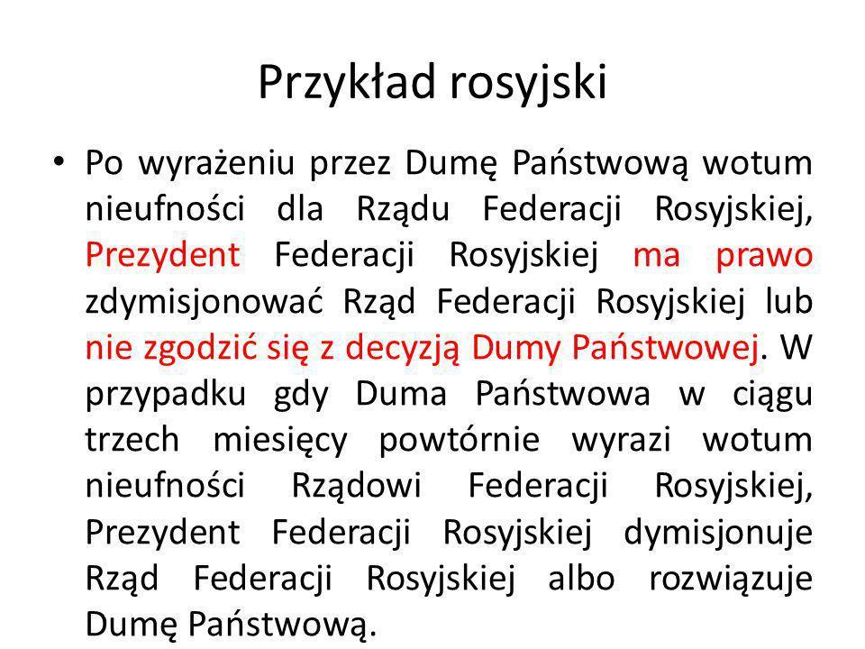 Przykład rosyjski