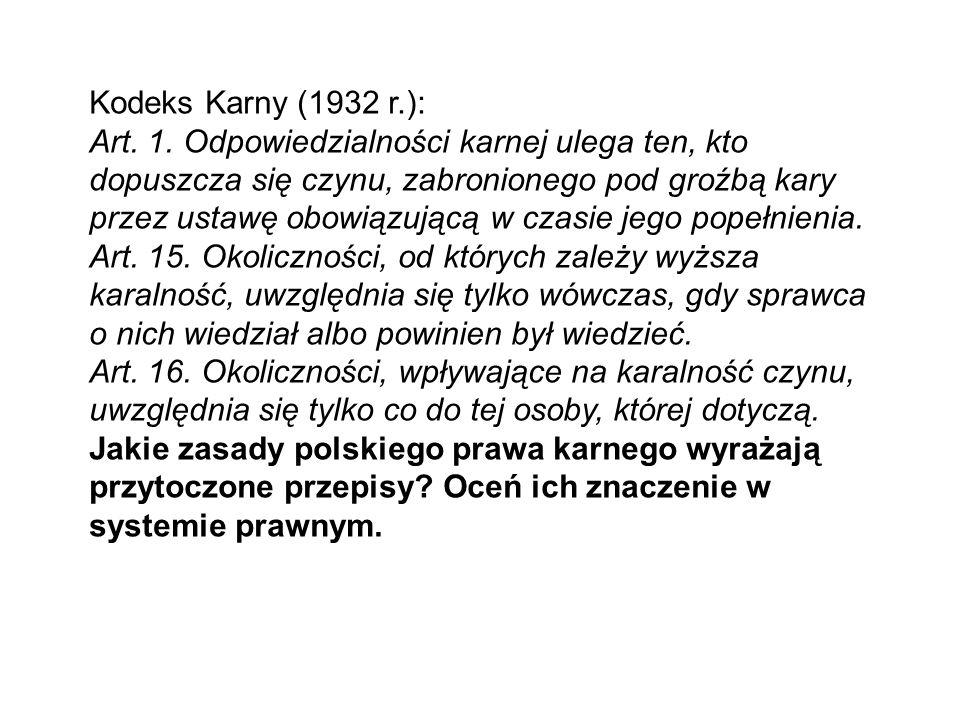 Kodeks Karny (1932 r.):