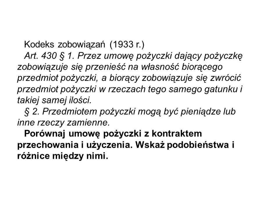 Kodeks zobowiązań (1933 r.)