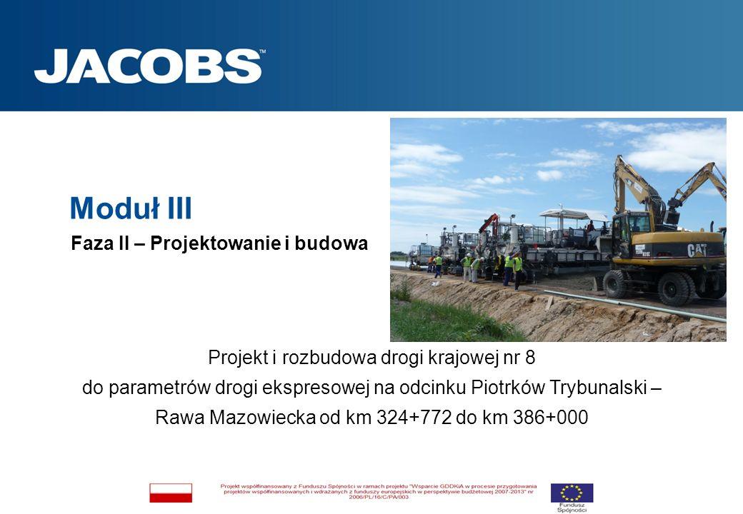 Projekt i rozbudowa drogi krajowej nr 8