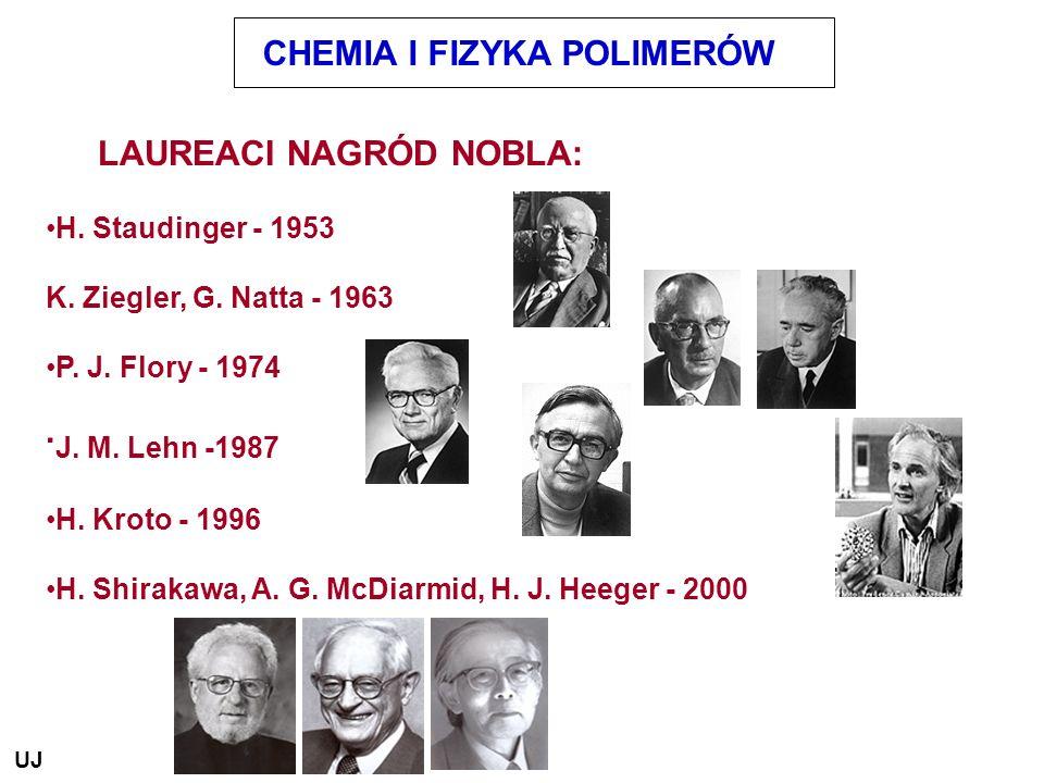 .J. M. Lehn -1987 CHEMIA I FIZYKA POLIMERÓW LAUREACI NAGRÓD NOBLA: