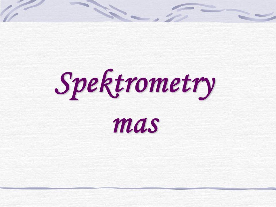Spektrometry mas