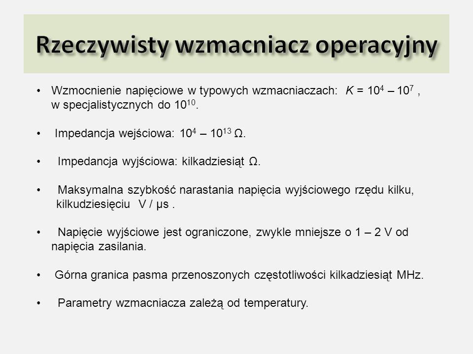 Rzeczywisty wzmacniacz operacyjny
