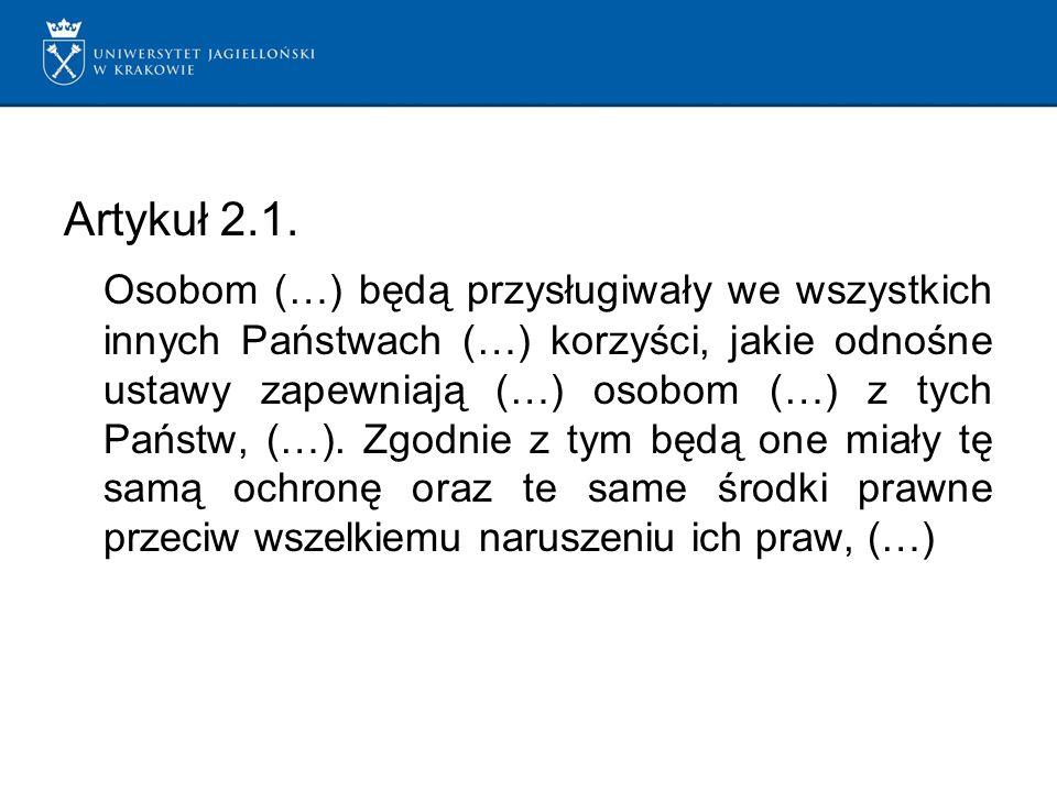 Artykuł 2.1.