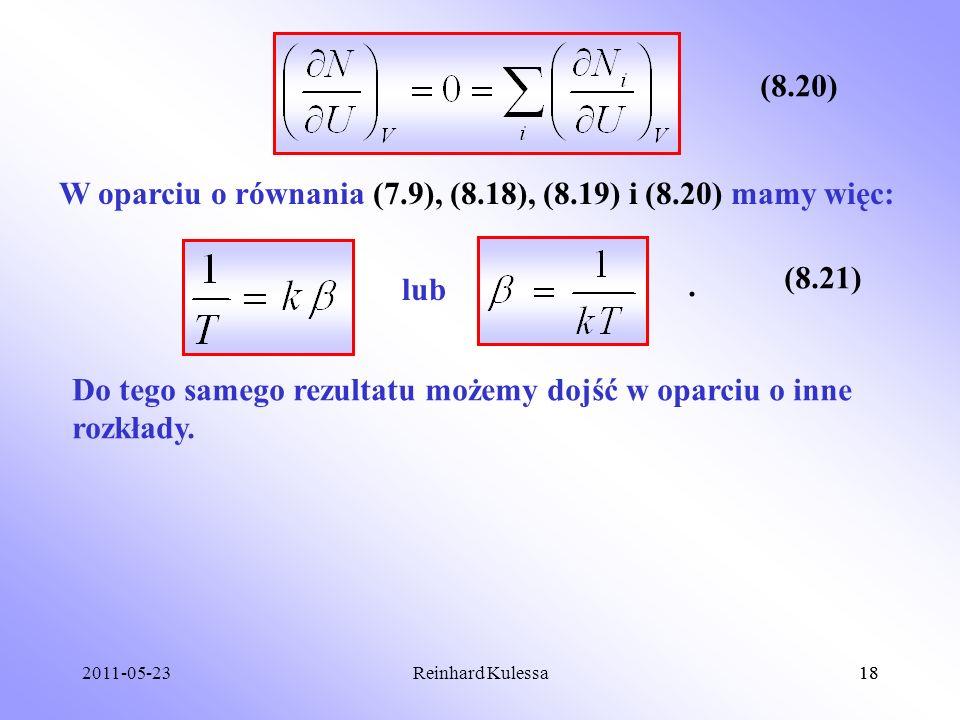 W oparciu o równania (7.9), (8.18), (8.19) i (8.20) mamy więc: