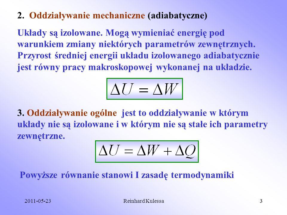 2. Oddziaływanie mechaniczne (adiabatyczne)