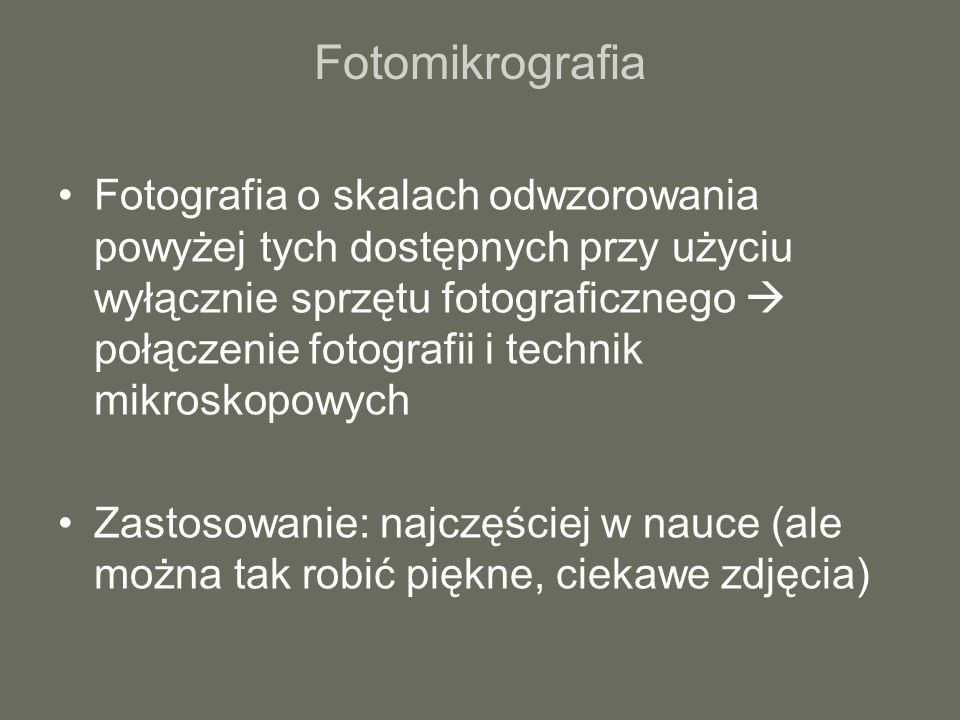 Fotomikrografia