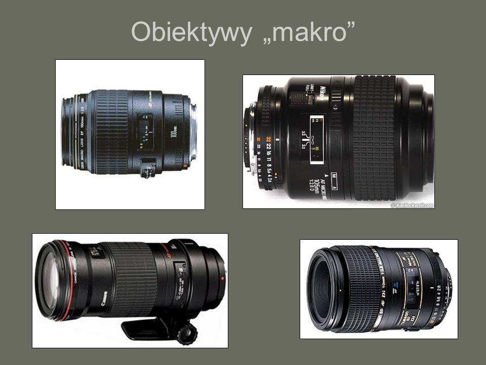 """Obiektywy """"makro"""