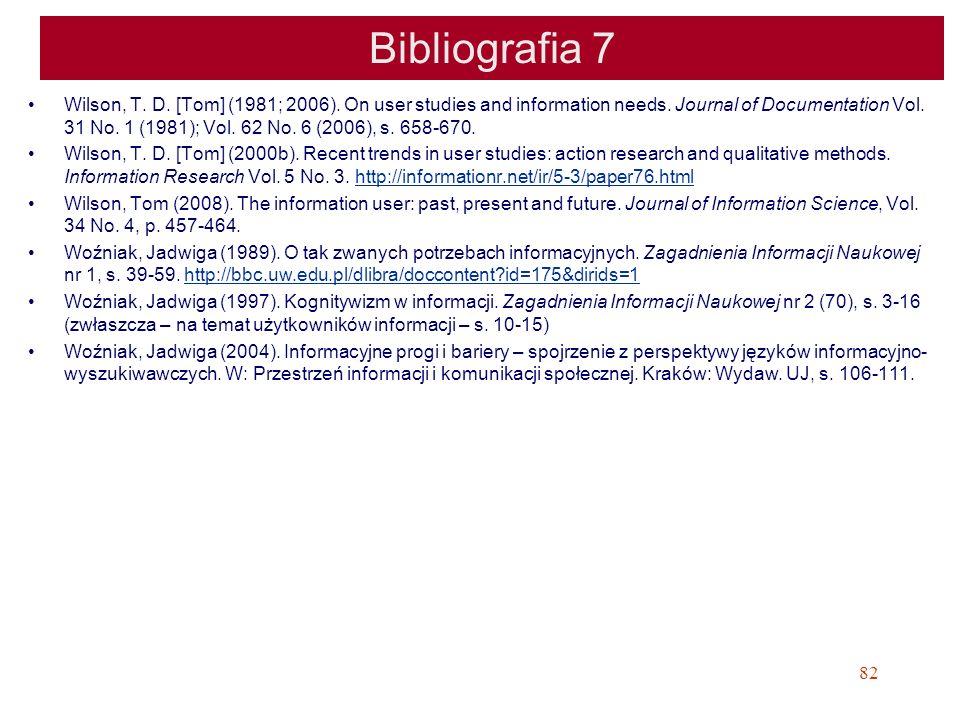 Bibliografia 7