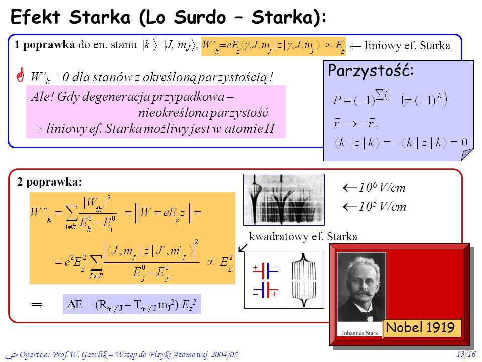 Efekt Starka (Lo Surdo – Starka):