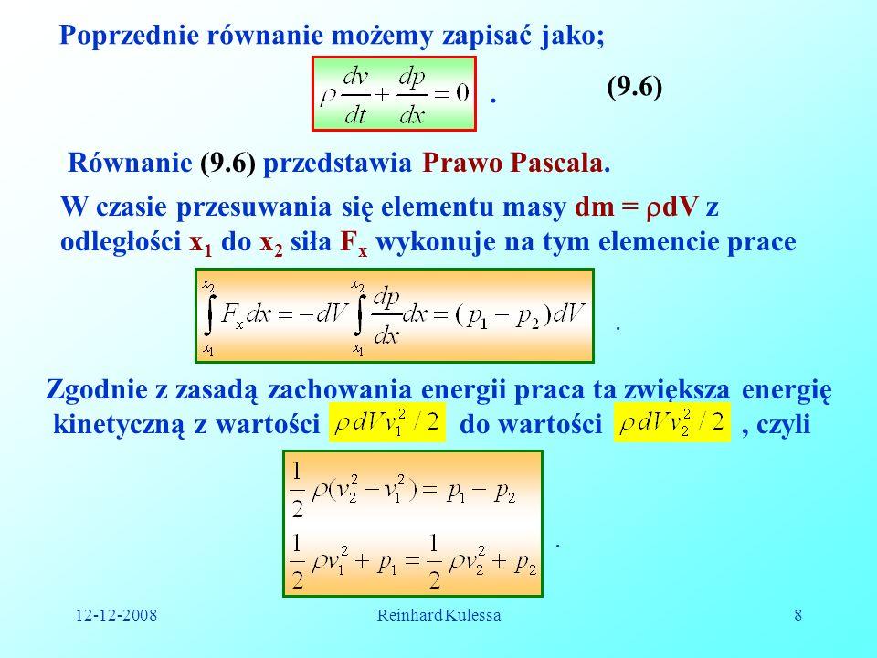 Poprzednie równanie możemy zapisać jako;