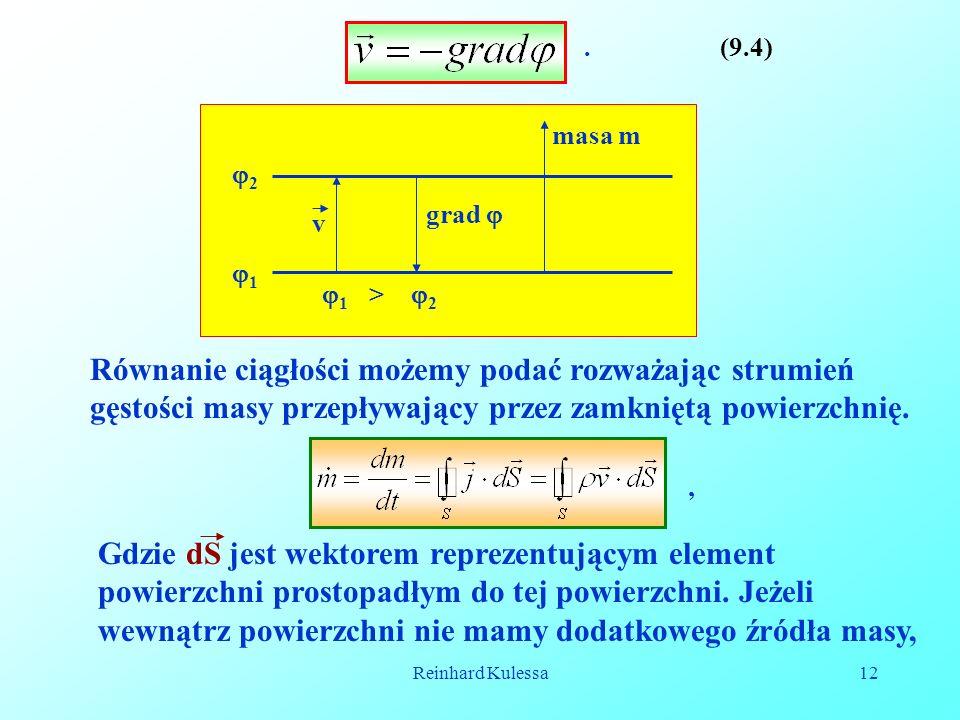 . (9.4) 2. 1 > 2. 1. masa m. v. grad 