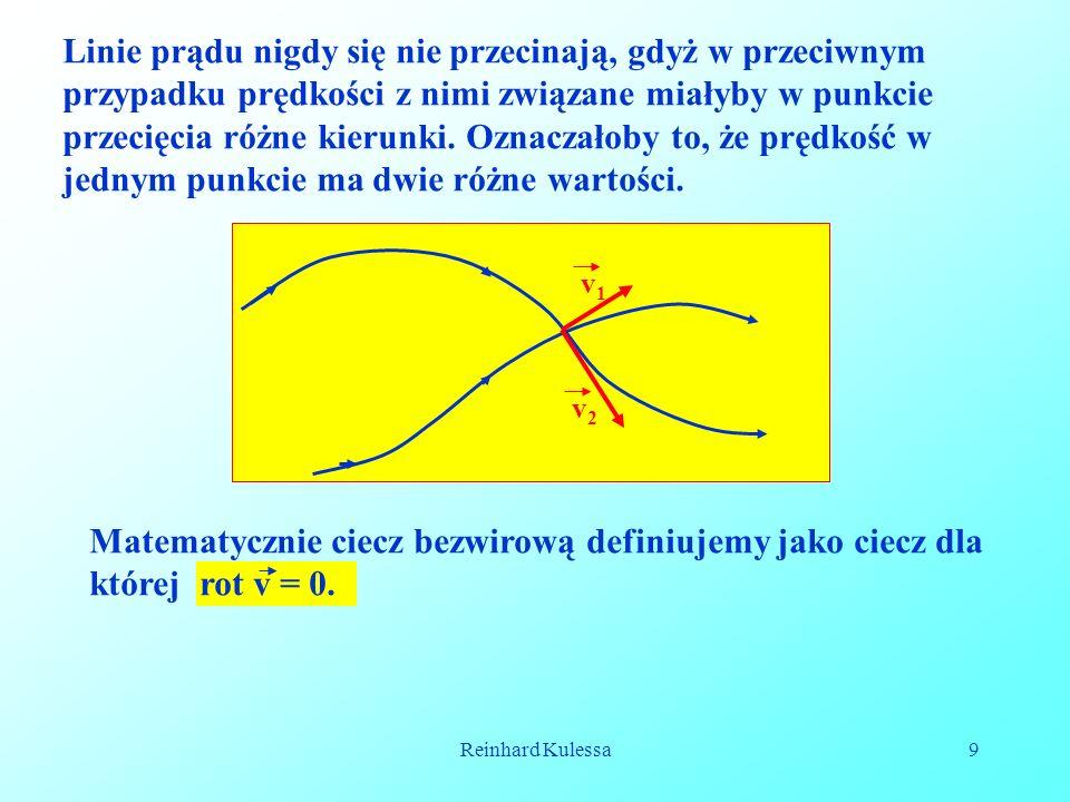 Matematycznie ciecz bezwirową definiujemy jako ciecz dla