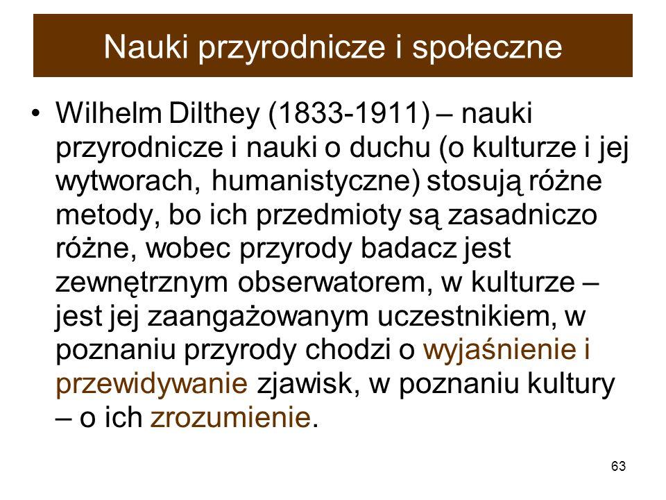 Nauki przyrodnicze i społeczne