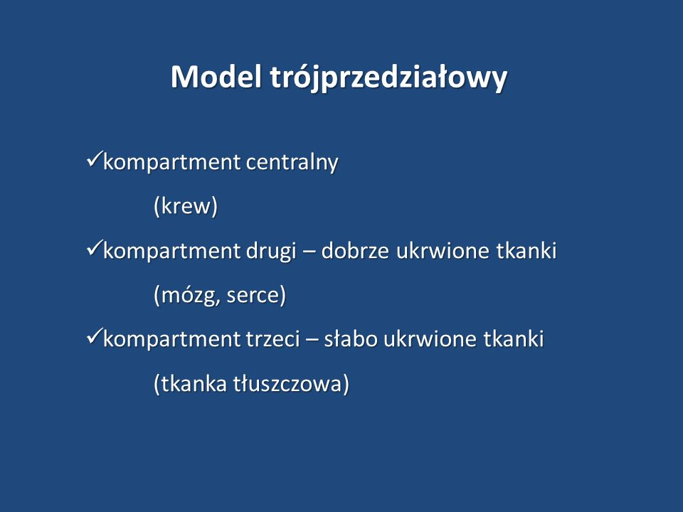 Model trójprzedziałowy