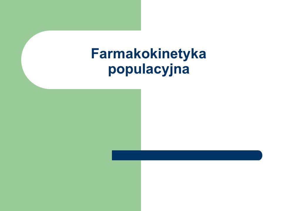 Farmakokinetyka populacyjna