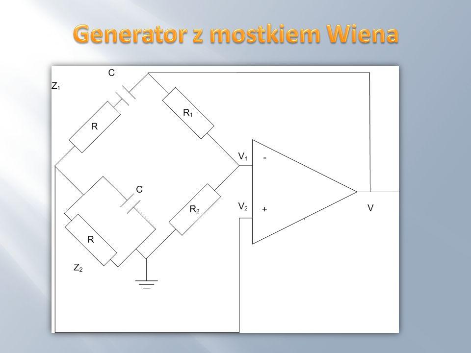 Generator z mostkiem Wiena