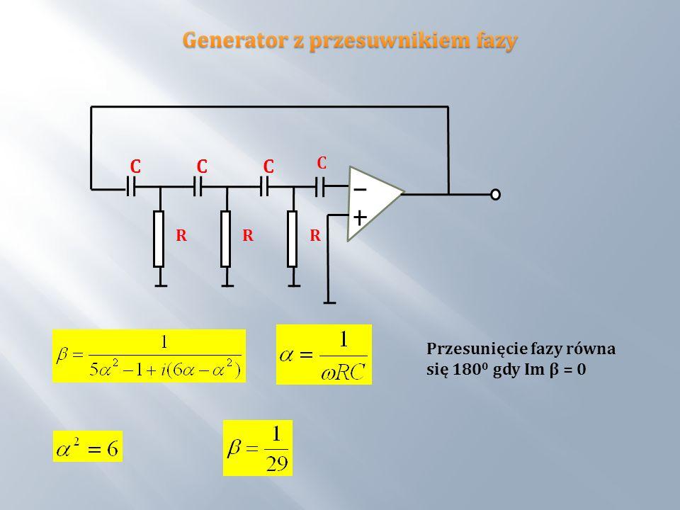 C Generator z przesuwnikiem fazy R