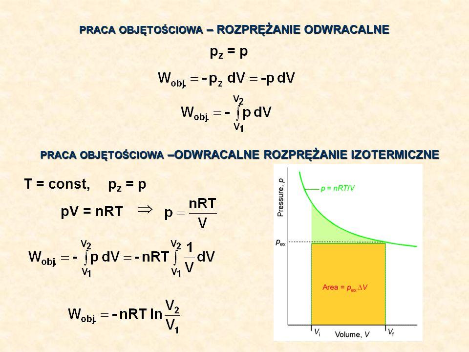  pz = p pz = p T = const, pV = nRT