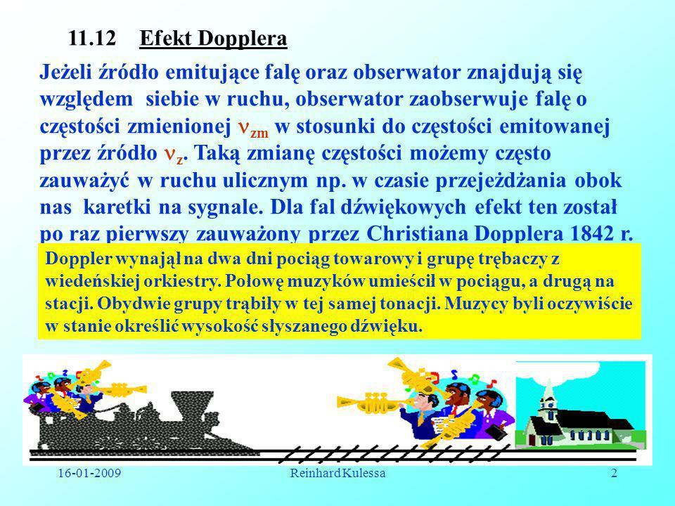 11.12 Efekt Dopplera