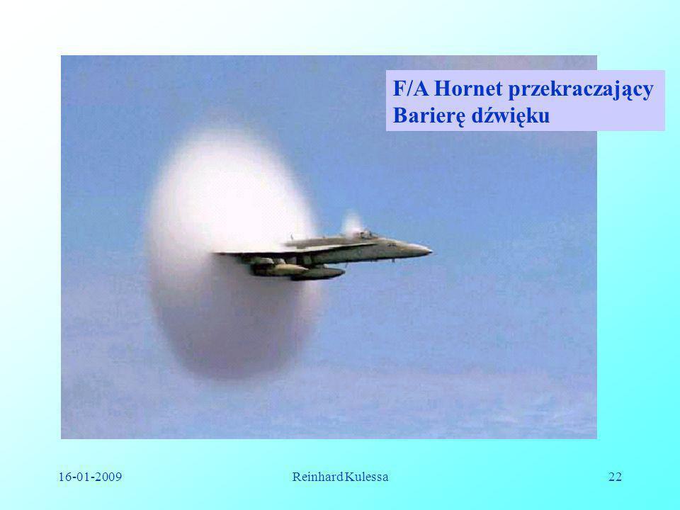 F/A Hornet przekraczający Barierę dźwięku