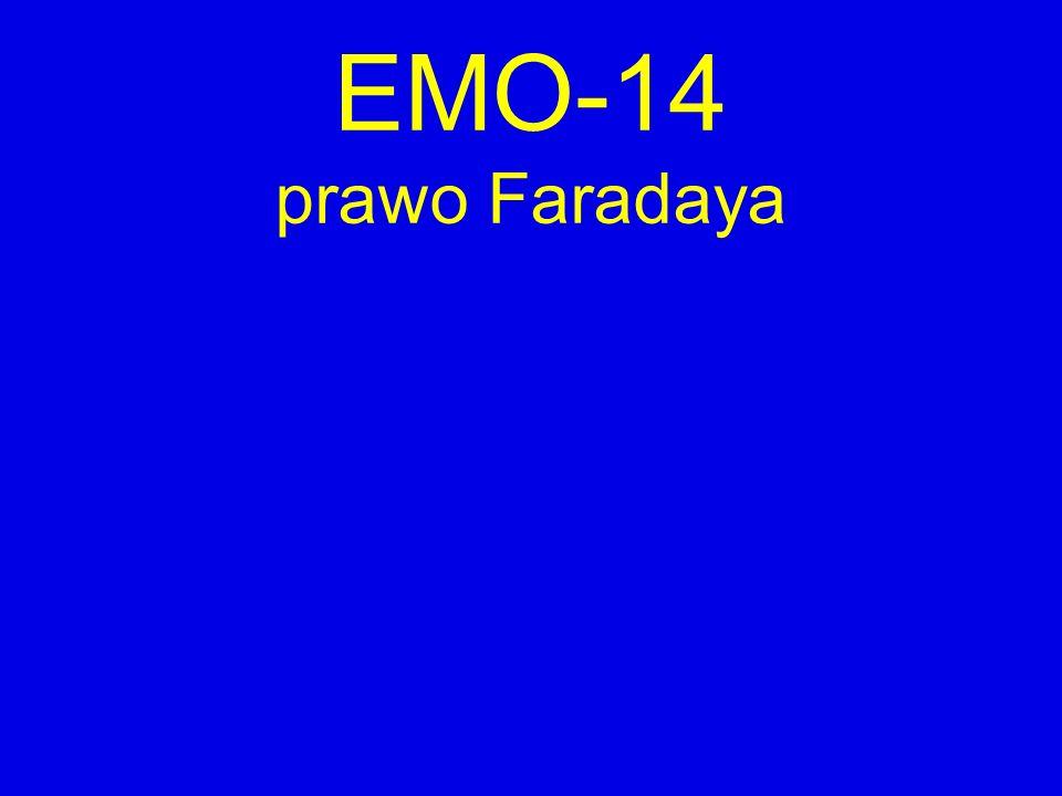 EMO-14 prawo Faradaya