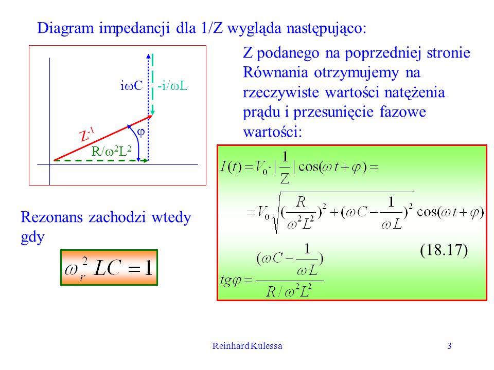 Diagram impedancji dla 1/Z wygląda następująco: