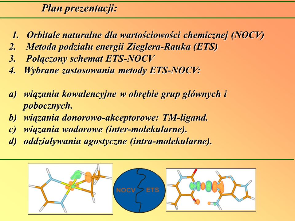 Orbitale naturalne dla wartościowości chemicznej (NOCV)