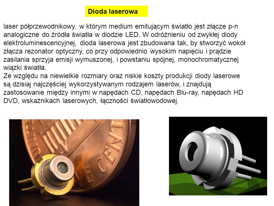 Dioda laserowa