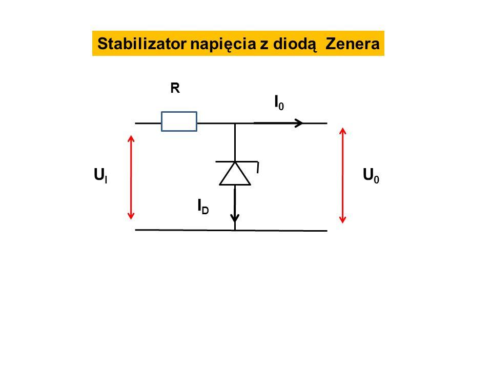Stabilizator napięcia z diodą Zenera