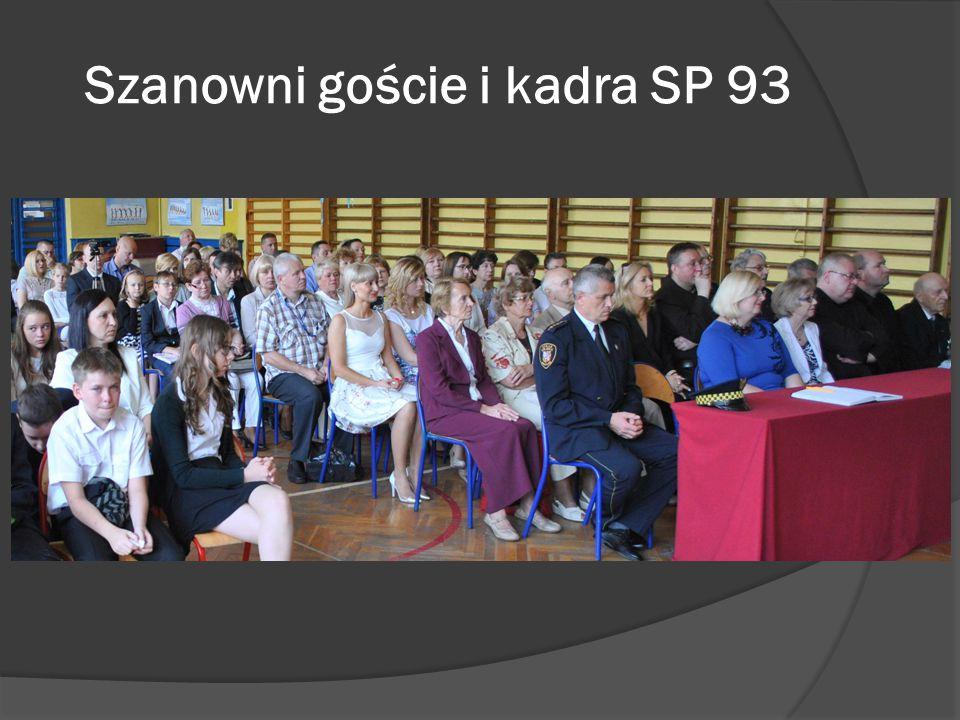 Szanowni goście i kadra SP 93