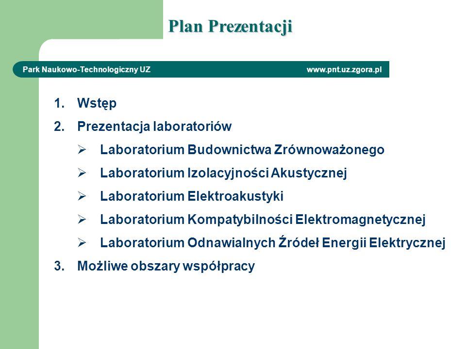 Plan Prezentacji Wstęp Prezentacja laboratoriów