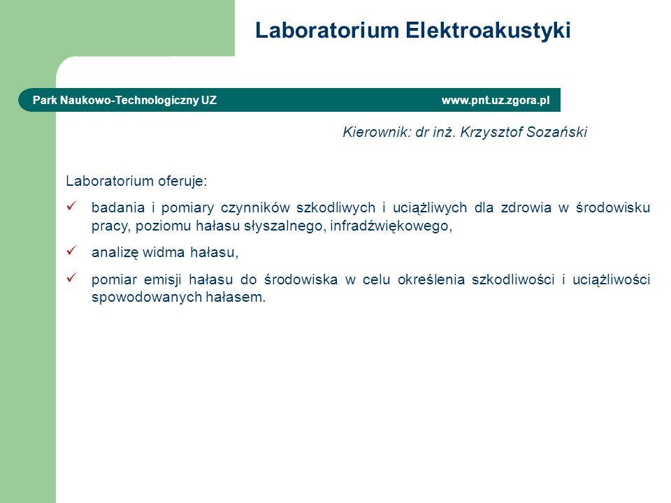 Laboratorium Elektroakustyki