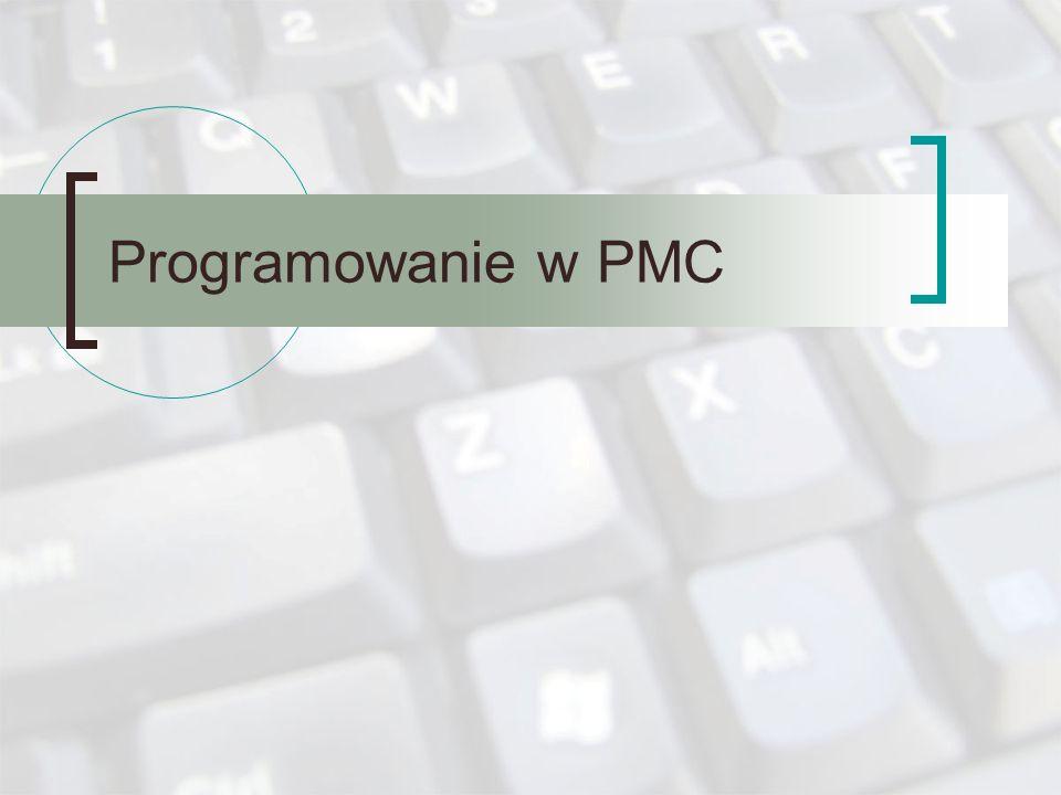 Programowanie w PMC