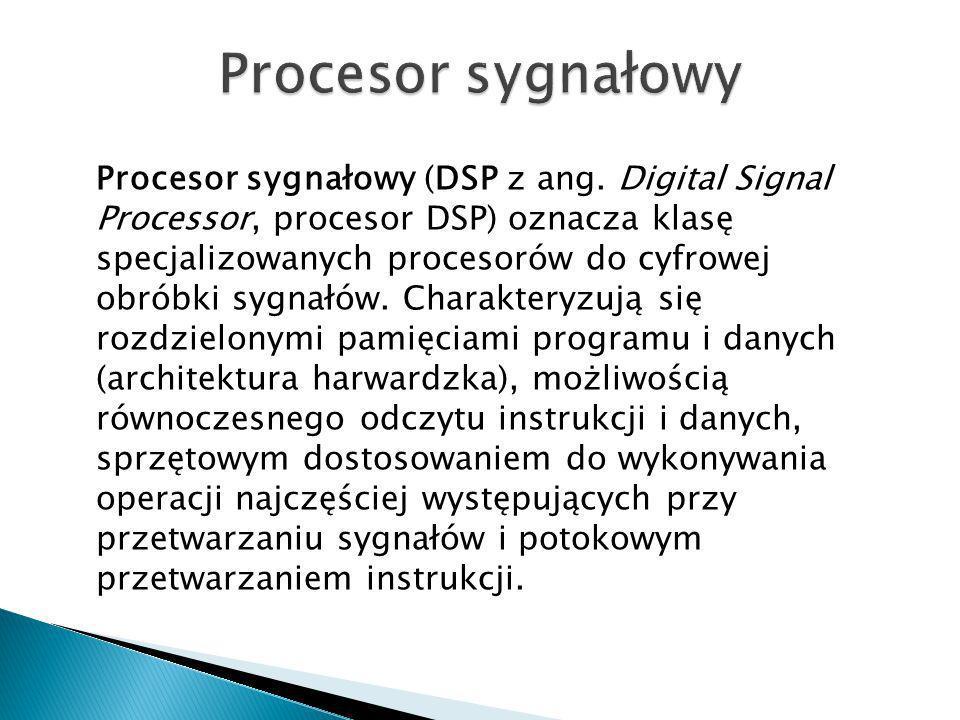Procesor sygnałowy