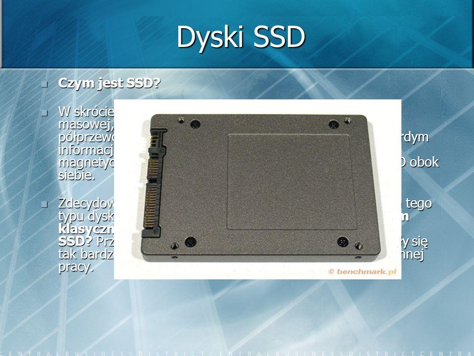 Dyski SSD Czym jest SSD