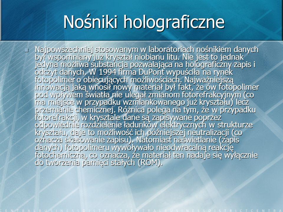 Nośniki holograficzne
