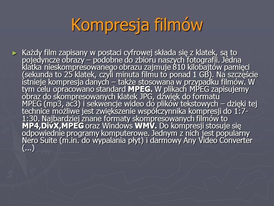 Kompresja filmów