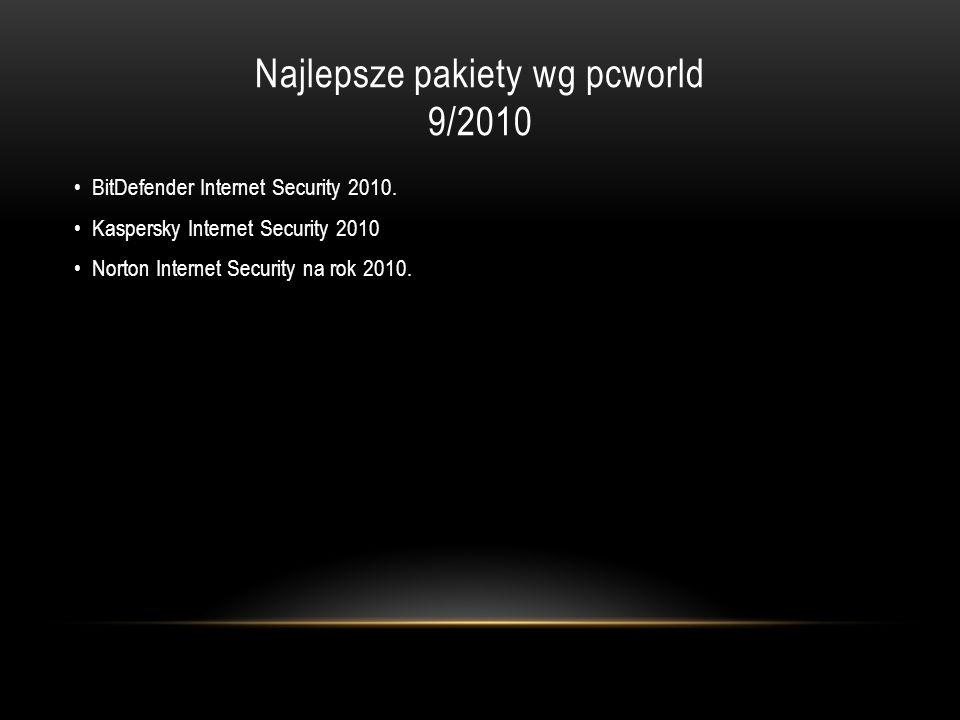 Najlepsze pakiety wg pcworld 9/2010