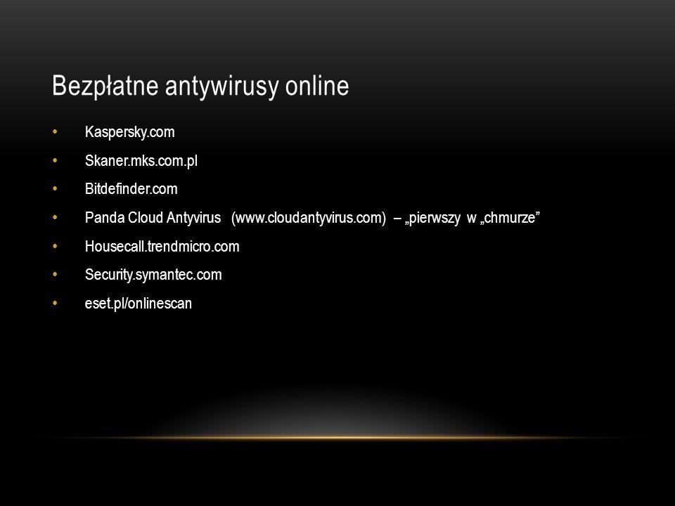 Bezpłatne antywirusy online
