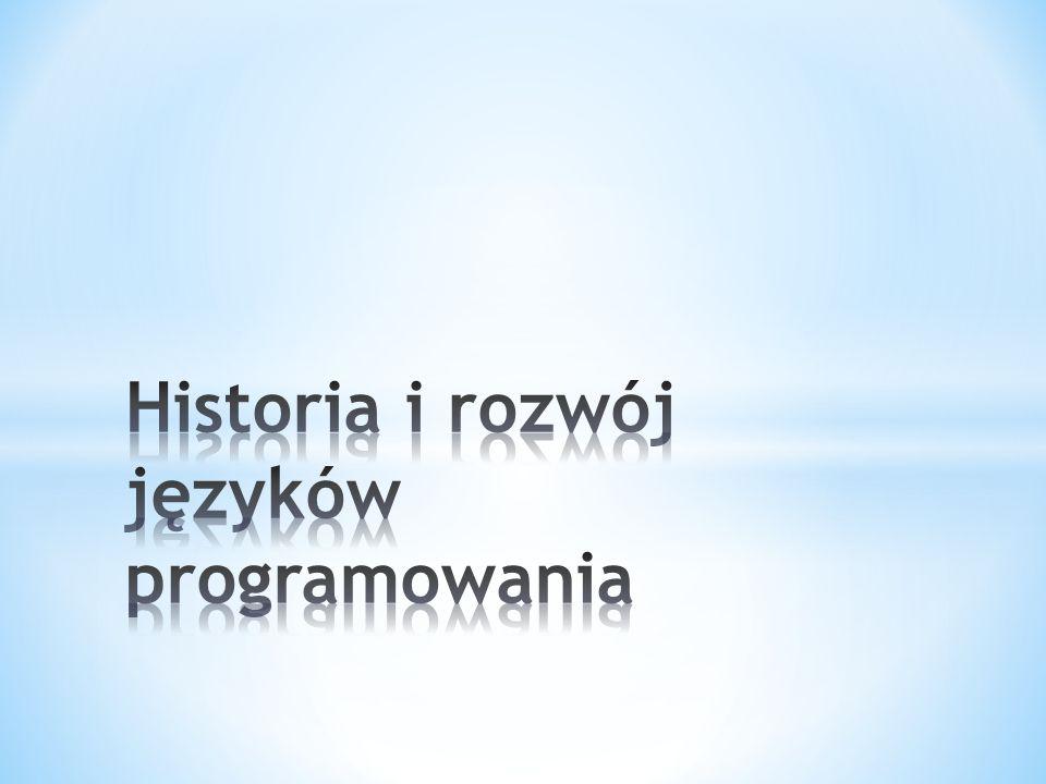 Historia i rozwój języków programowania
