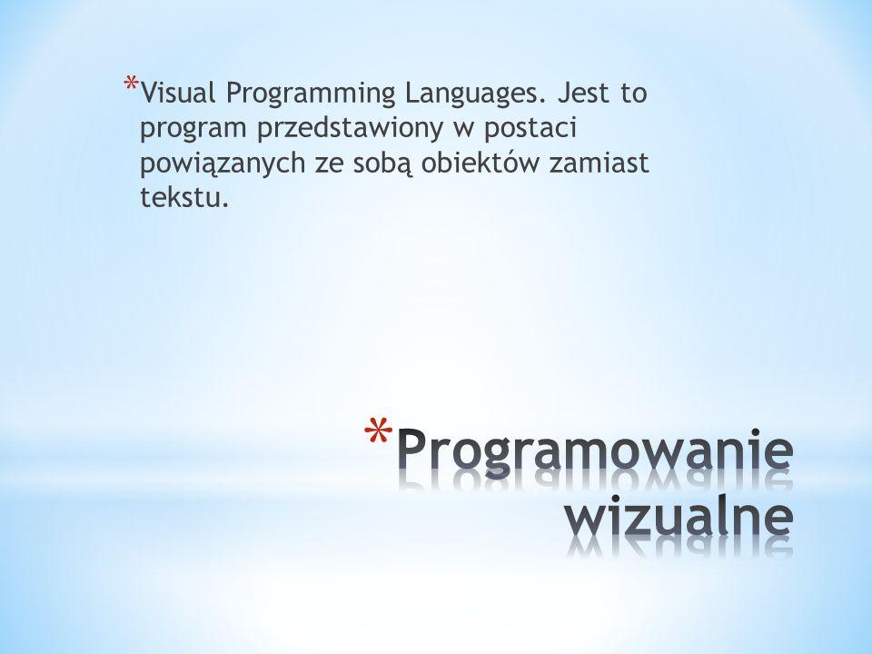 Programowanie wizualne