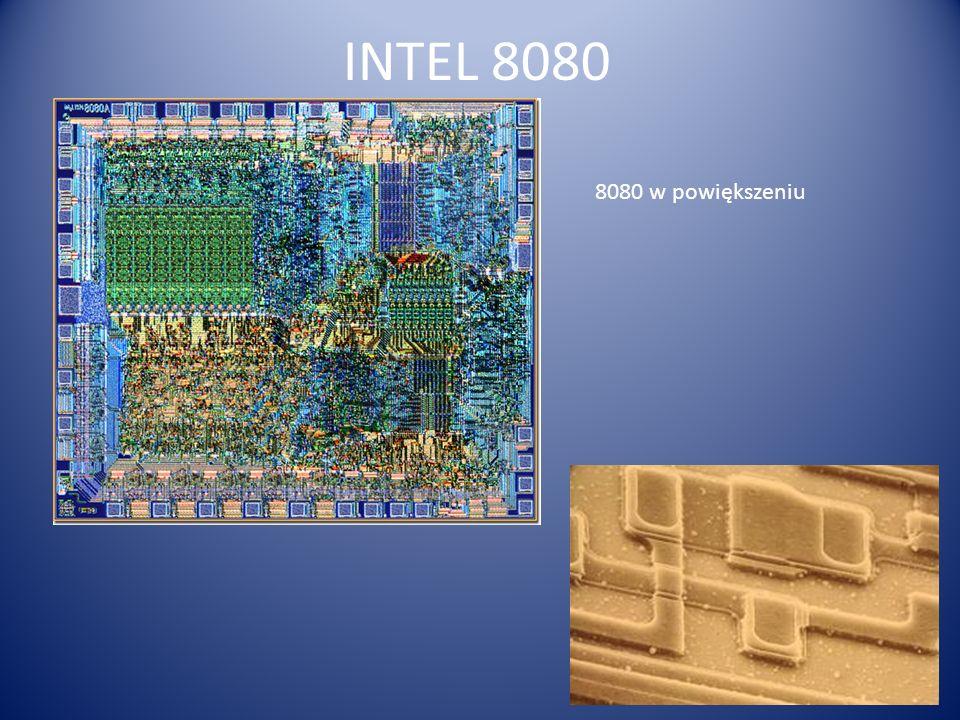 INTEL 8080 8080 w powiększeniu