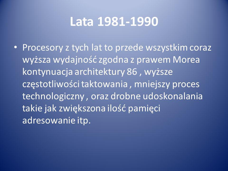 Lata 1981-1990