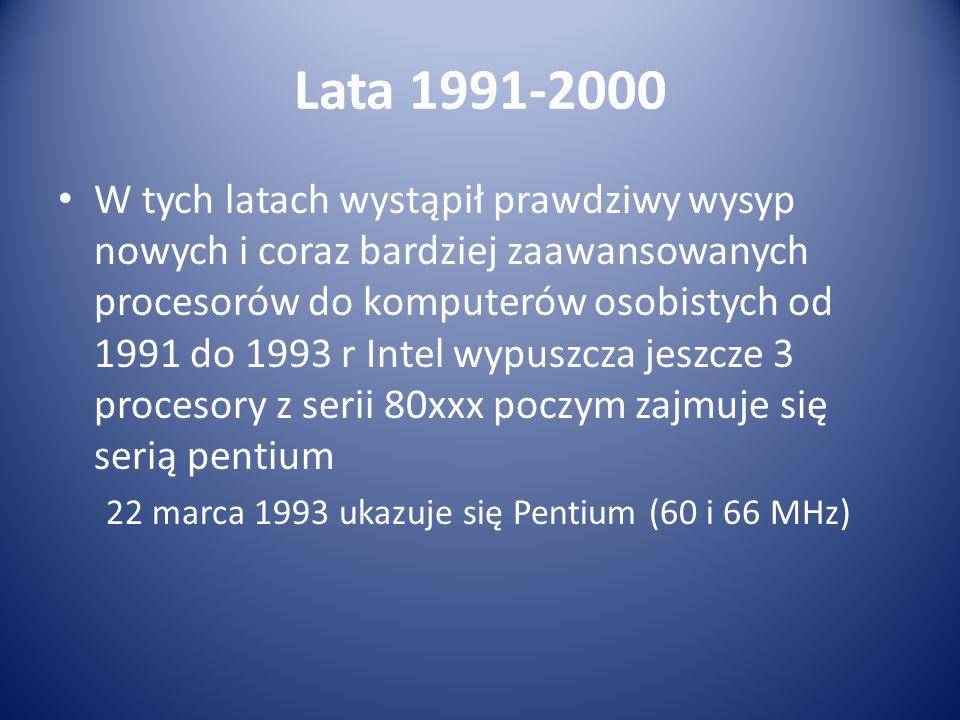 Lata 1991-2000