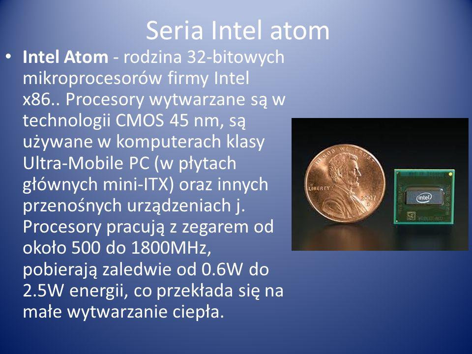 Seria Intel atom