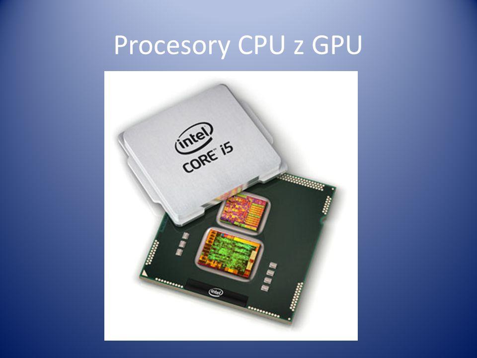 Procesory CPU z GPU